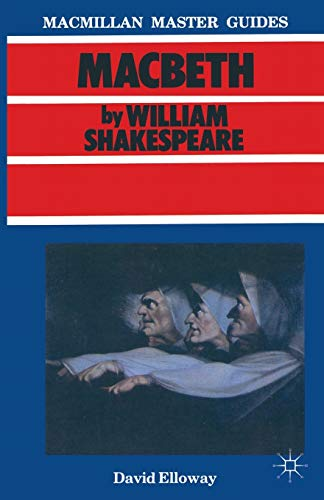 9780333372036: Shakespeare: Macbeth (Macmillan Master Guides)