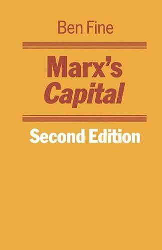 9780333375365: Marx's Capital