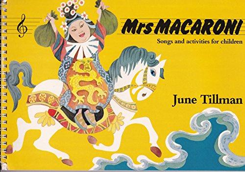9780333378267: Mrs. Macaroni: Songs for Children