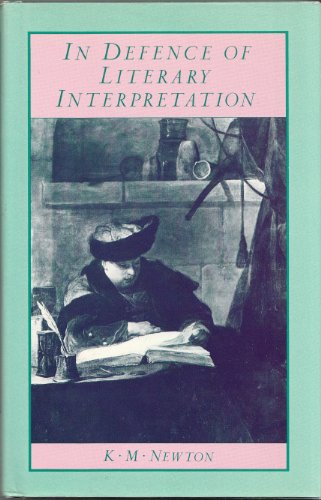 9780333378595: In Defence of Literary Interpretation: Theory and Practice