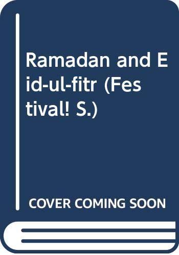 9780333378984: Ramadan and Eid-ul-fitr (Festival!)