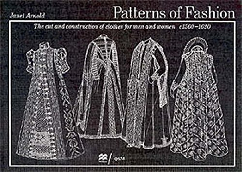 9780333382844: Patterns of Fashion: C1560-1620: 1560-1620 v. 3