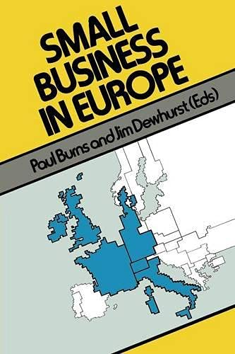 9780333384060: Small Business in Europe (MacMillan Small Business)