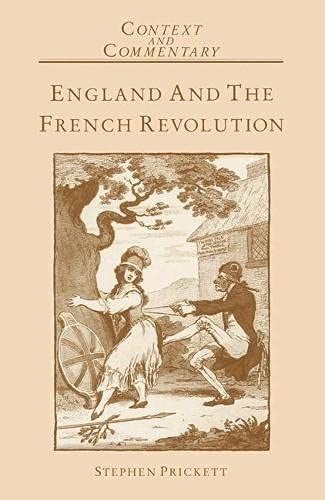9780333387054: England and the French Revolution (Context & Community)