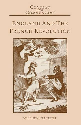 9780333387061: England and the French Revolution (Context and Commentary)