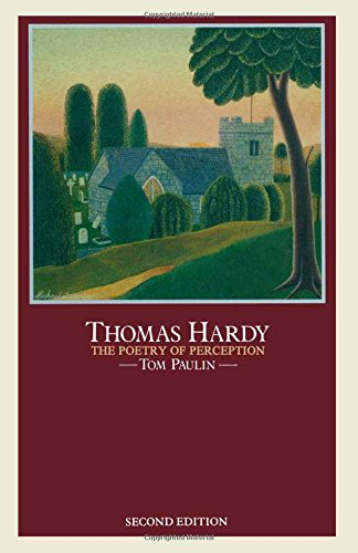 9780333387429: Thomas Hardy: The Poetry of Perception