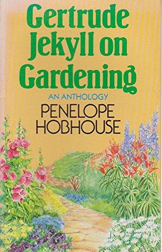 9780333387610: Gertrude Jekyll On Gardening