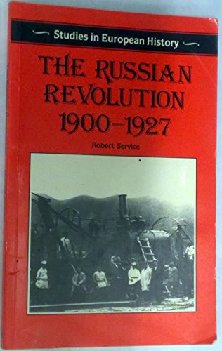 9780333388198: The Russian Revolution, 1900-27 (Studies in European History)