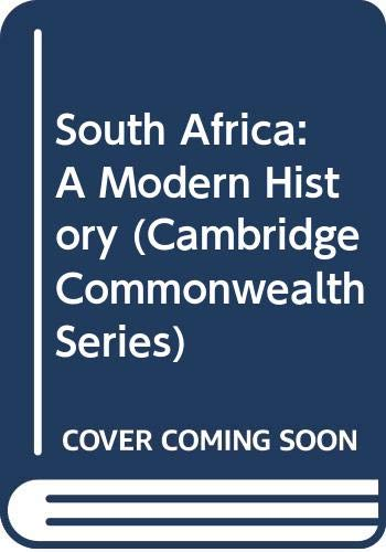 9780333388303: South Africa : A Modern History