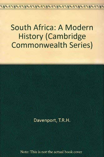 9780333388310: South Africa: A Modern History (Cambridge Commonwealth)
