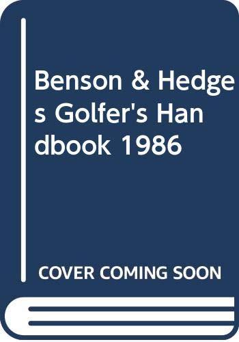 Benson & Hedges golfer's handbook: VINEY, Laurence (ed)