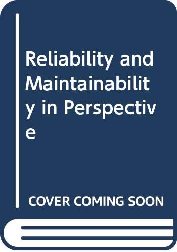 9780333391174: Reliability and Maintainability in Perspective