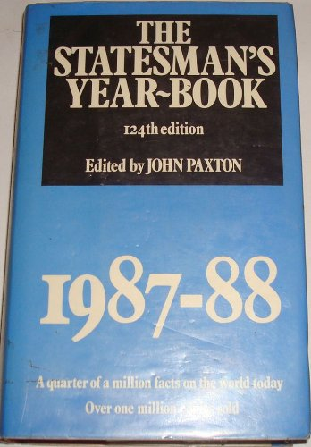 9780333391518: The Statesman's Yearbook