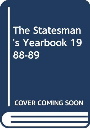 9780333391525: The Statesman's Yearbook