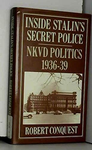 9780333392607: Inside Stalin's Secret Police: N.K.V.D. Politics, 1936-39