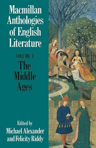 9780333392645: The Middle Ages: 700-1550 (Anthologies of English literature) (v. 1)
