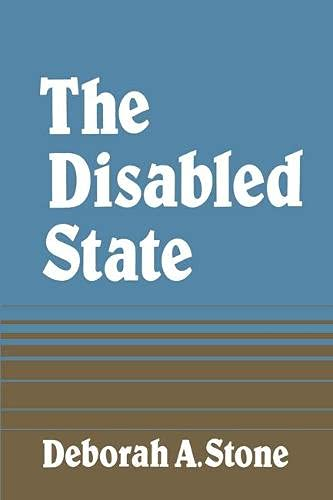 9780333393123: The Disabled State