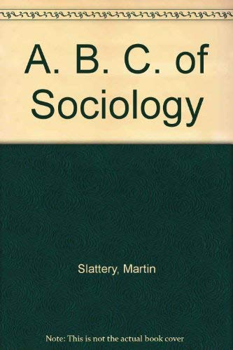 9780333393314: A. B. C. of Sociology