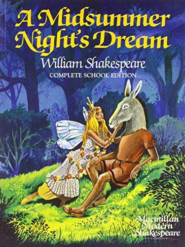 9780333393420: A Midsummer Night's Dream (Macmillan modern Shakespeare)