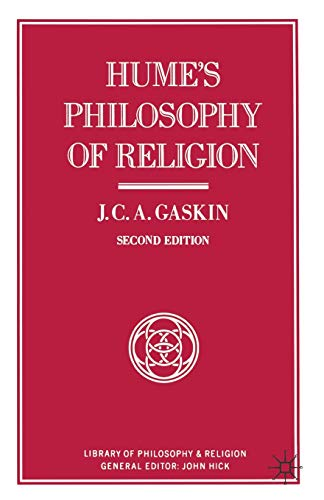 9780333393468: Hume's Philosophy of Religion (Library of Philosophy and Religion)