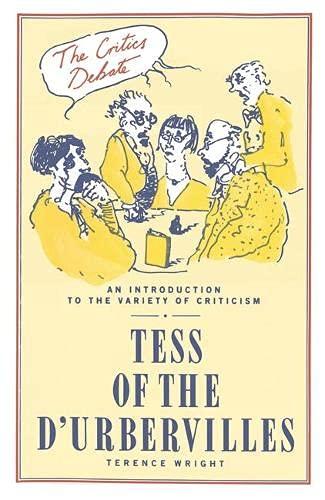 """9780333395844: """"Tess of the D'Urbervilles"""""""