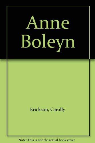 9780333395882: Anne Boleyn
