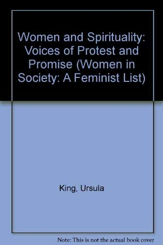 9780333396056: Women and Spirituality: Voices of Protest and Promise (Women in Society: A Feminist List)