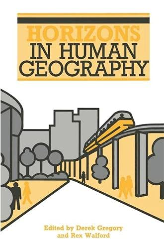 9780333396124: Horizons in Human Geography (Horizons in Geography)