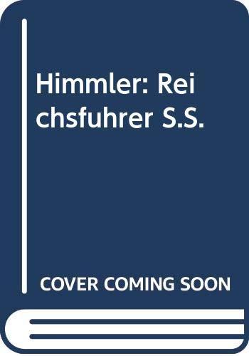 9780333396995: Himmler: Reichsfuehrer Ss: Reichsfuhrer S.S. (Papermac)