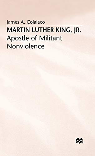 9780333397985: Martin Luther King, Jr.: Apostle of Militant Nonviolence