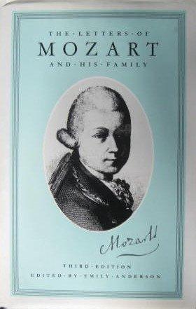 Letters Wolfgang Amadeus Mozart 1769 1791, Used