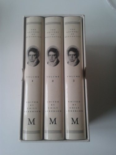9780333398333: The Letters of Beethoven (3 Volume Set)