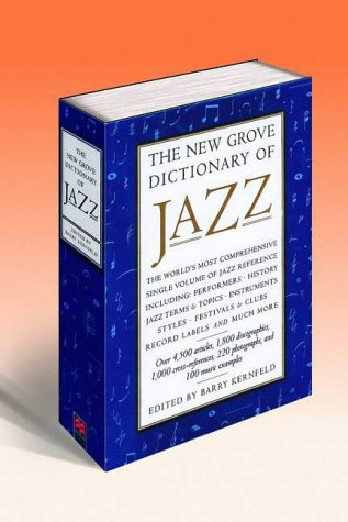 9780333398463: The New Grove Dictionary of Jazz [2 Volume Set]