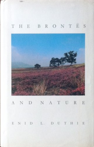 9780333398487: The Brontes and Nature