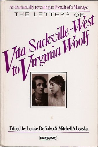 9780333399019: The Letters of Vita Sackville-West to Virginia Woolf
