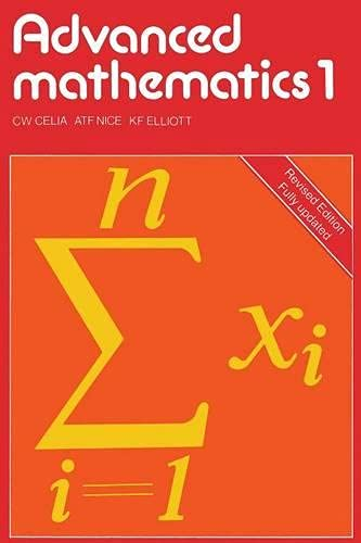9780333399835: Advanced Mathematics: Bk. 1