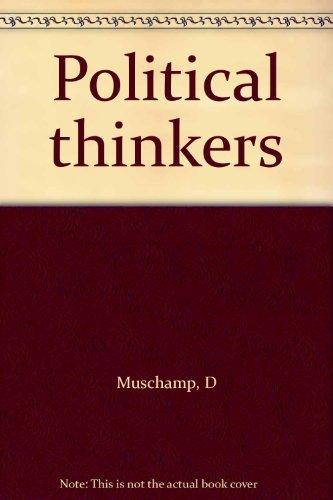 9780333401262: Political thinkers