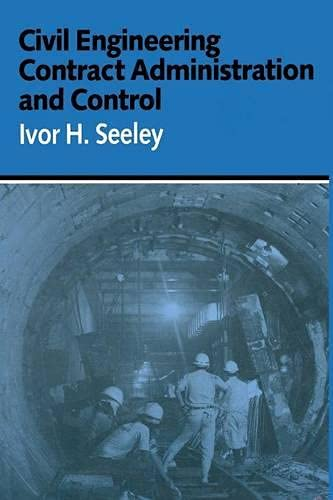 9780333405925: Civil Engineering Contract Administration and Control (Building & Surveying)