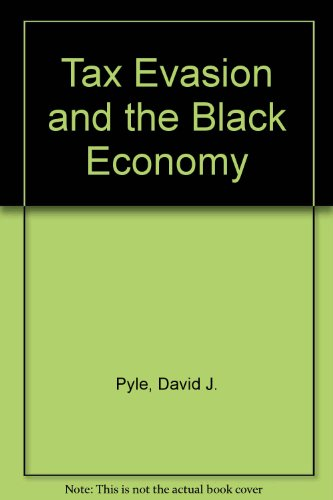 9780333406717: Tax Evasion and the Black Economy