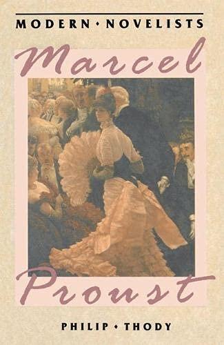 9780333406960: Marcel Proust (Macmillan Modern Novelists Series)