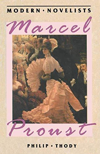 9780333406977: Marcel Proust (Palgrave Modern Novelists Series)