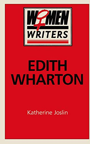 9780333407301: Edith Wharton (Women Writers)
