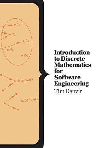 9780333407363: Introduction to Discrete Mathematics for Software Engineering (Computer Science Series)