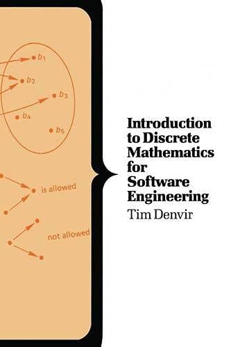 9780333407370: Introduction to Discrete Mathematics for Software Engineering (Computer Science Series)