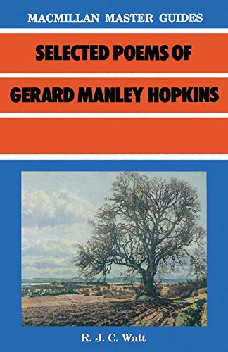 9780333408674: Selected Poems of Gerard Manley Hopkins (Palgrave Master Guides)