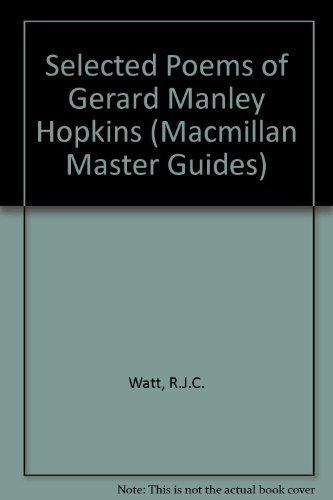 9780333408681: Selected Poems of Gerard Manley Hopkins (Macmillan Master Guides)