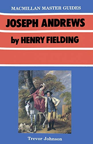 9780333409206: Joseph Andrews by Henry Fielding (Palgrave Master Guides)