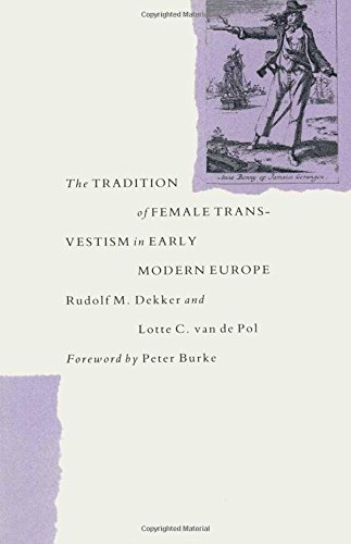 9780333412534: The Tradition of Female Transvestism in Early Modern Europe