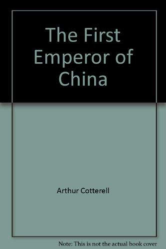 9780333416129: The First Emperor of China