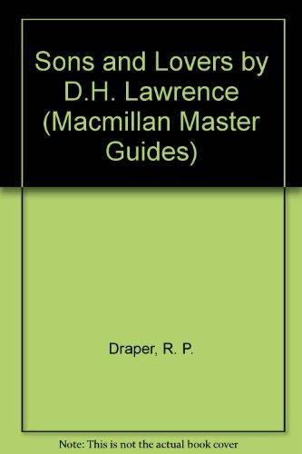 9780333416747: Sons and Lovers by D.H. Lawrence (Macmillan Master Guides)
